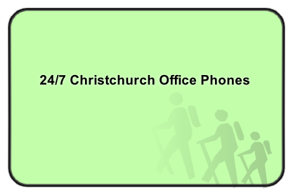 24/7 Christchurch Office Phones